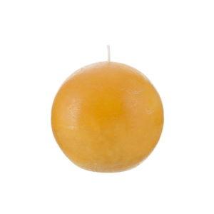Oranžová svíčka J-Line Ball