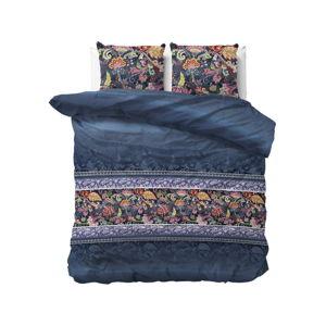 Modré povlečení na dvoulůžko Sleeptime Paisley,200x220cm