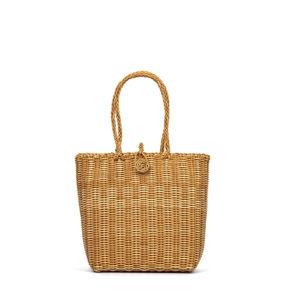Dámská hnědá plážová taška Nina Beratti Alphee Camel