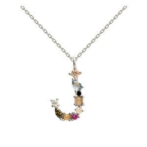 Stříbrný náhrdelník PD PAOLA Monogram J