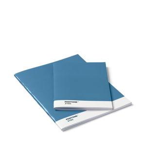 Sada 2modrých zápisníků Pantone