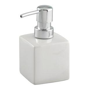 Bílý keramický dávkovač mýdla Wenko Square