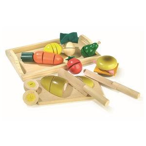 Dřevěná hrací sada Legler Breakfast