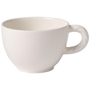 Bílý porcelánový hrnek na kávu Villeroy & Boch Montauk, 0,35 l