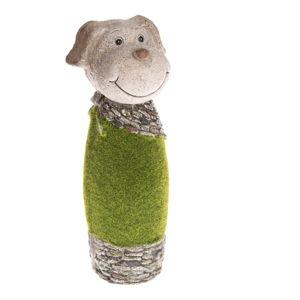 Zahradní dekorace ve tvaru psa Dakls, výška 33 cm