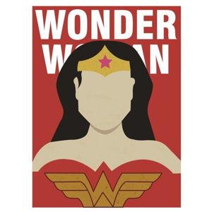 Plakát Blue-Shaker Super Heroes Wonder Woman, 30 x 40 cm