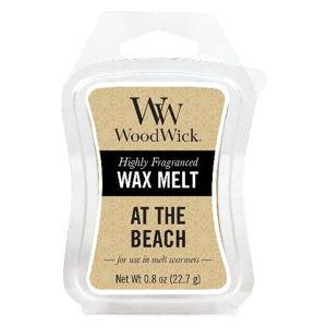 Vonný vosk do aromalampy s vůní citronu, mořské vody a kokosu WoodWick Na pláži, doba provonění 20 hodin