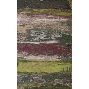 Koberec Eco Rugs Green Abstract, 80 x 150 cm