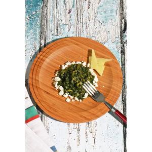 Bambusový talíř Kutahya Snack, ⌀ 24 cm