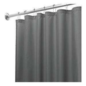 Šedý sprchový závěs iDesign, 180x200cm