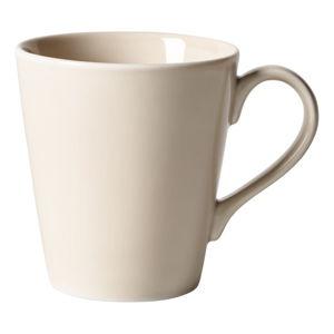 Krémově béžový porcelánový hrnek Like by Villeroy & Boch Group, 0,35 l