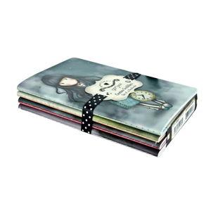 Sada 4 zápisníků Santoro London Scribbles