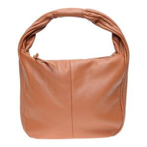 Hnědá kožená kabelka se 2 kapsami Isabella Rhea