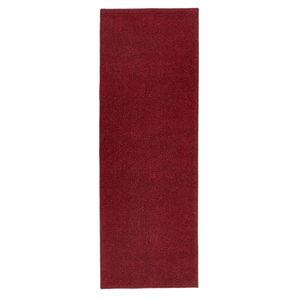 Červený běhoun Hanse Home Pure, 80x400cm