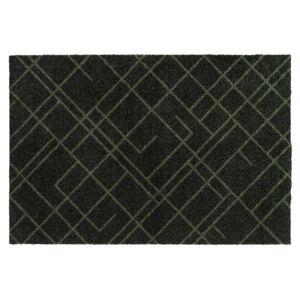 Tmavě zelená rohožka tica copenhagen Lines, 60x90cm