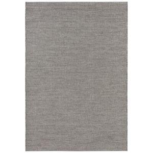 Šedý koberec vhodný i na ven Elle Decor Brave Dreux, 80 x 150 cm