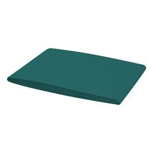 Smaragdově zelené elastické prostěradlo na jednolůžko Bella Maison Basic, 100 x 200 cm