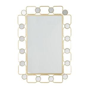 Nástěnné zrcadlo ve zlaté barvě Mauro Ferretti Rubias