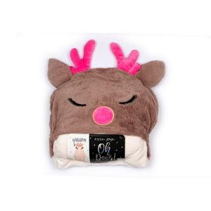 Set deky s kapucí a ponožek Tri-CoastalDesign Deer
