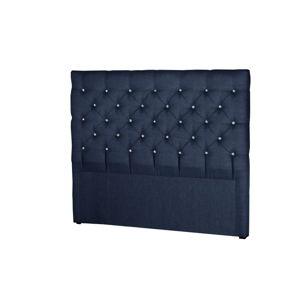 Tmavě modré čelo postele Stella Cadente Maison Pegaz, 160x118cm