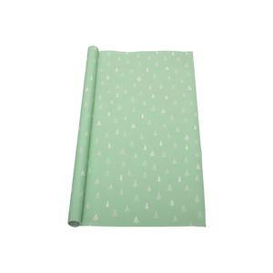 Zelený balicí papír Bloomingville Gift, délka 1,4 m
