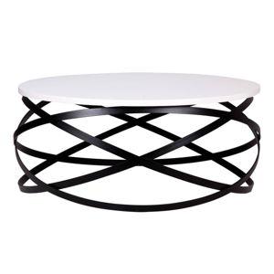 Bílý konferenční stolek sømcasa Evgeni