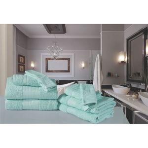 Koupelnový set osušek a rukavic z bavlny Uni Sinno