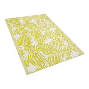Žlutý venkovní koberec Monobeli Casma, 120 x 170 cm