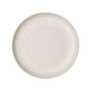 Bílý porcelánový talíř Villeroy & Boch Blossom, ⌀ 24 cm