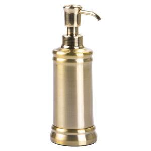 Nerezový dávkovač na mýdlo ve zlaté barvě iDesign Sutton