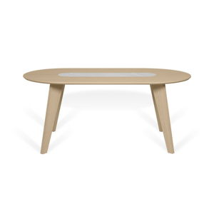Jídelní stůl sdubovou dýhou amramorem TemaHome Lago