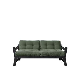 Variabilní pohovka Karup Design Step Black/Olive Green