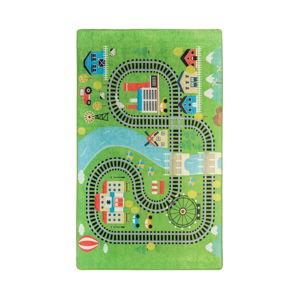 Dětský koberec Train, 140x190cm
