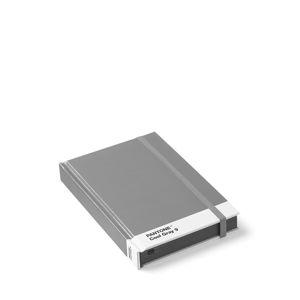 Malý šedý zápisník Pantone