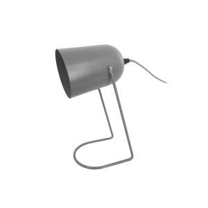 Šedá stolní lampa Leitmotiv Enchant
