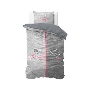 Povlečení na jednolůžko z čisté bavlny Sleeptime Beauty and the Beast, 140 x 220 cm