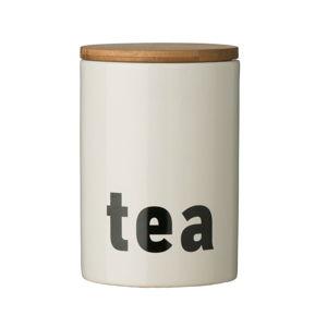 Dóza na čaj z dolomitu Premier Housewares, ⌀ 10 cm