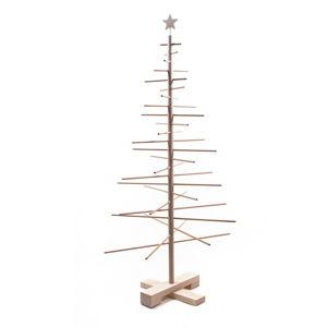 Dřevěný vánoční stromek Nature Home Xmas Decorative Tree, výška 125 cm
