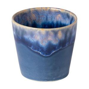 Modro-bílý kameninový šálek na espresso Costa Nova, 90 ml