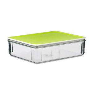 Limetkově zelený svačinový box Rosti Mepal, 850 ml