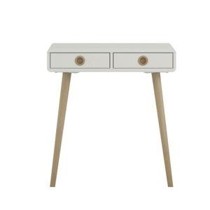 Bílý konzolový stolek Steens Soft Line