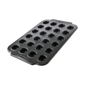 Černá forma na 24 muffinů s nepřilnavým povrchem Bakehouse Panem