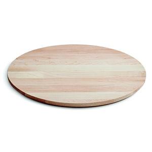 Servírovací tác z javorového dřeva Kähler Design Kaolin, ⌀ 33 cm