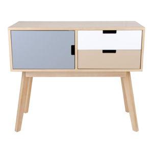 Konzolový stolek z dřeva paulownie House Nordic Milano