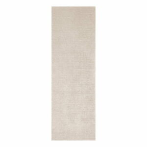 Béžový běhoun Mint Rugs Supersoft, 80 x 250 cm