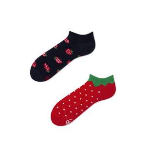 Kotníkové ponožky Many Mornings Strawberries,vel.39–42