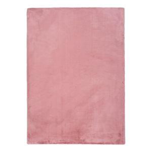 Růžový koberec Universal Fox Liso, 80 x 150 cm