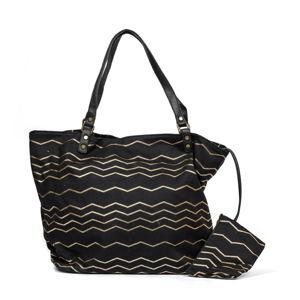 Černá plážová taška Nina Beratti Ivanie Noir