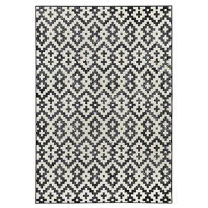 Černobílý koberec Zala LivingDuo, 200x290cm