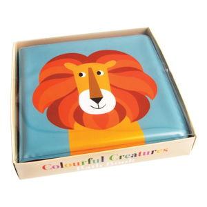 Voděodolná dětská knížka na koupání se lvem Rex London